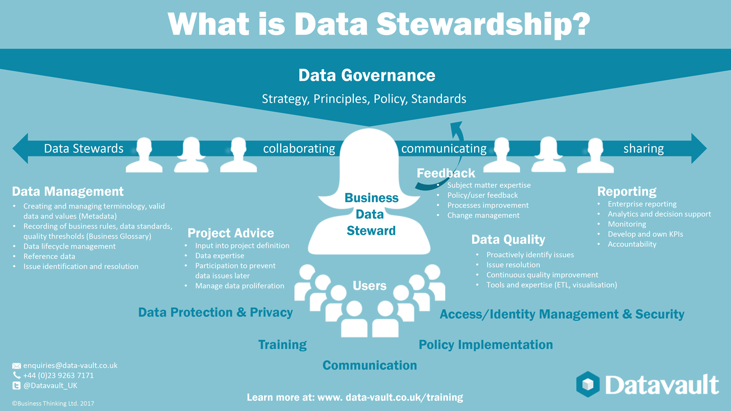 GDPR Data Steward Infographic Data Vault
